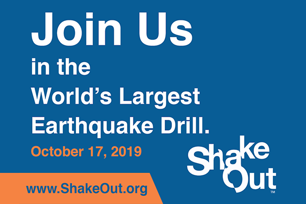 ShakeOut Earthquake Safety Drill Can Prepare You and Your Insureds